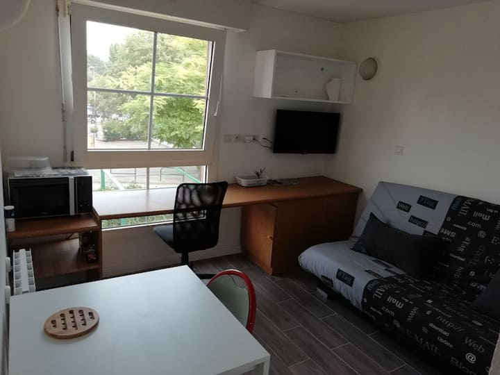 Studio de 16 m² avec parking