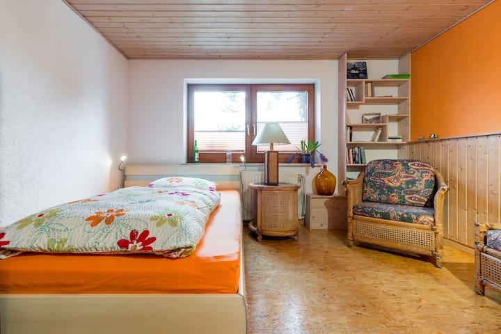 Gemütliche stadtnahe Einraumwohnung - Papendorf - Appartement