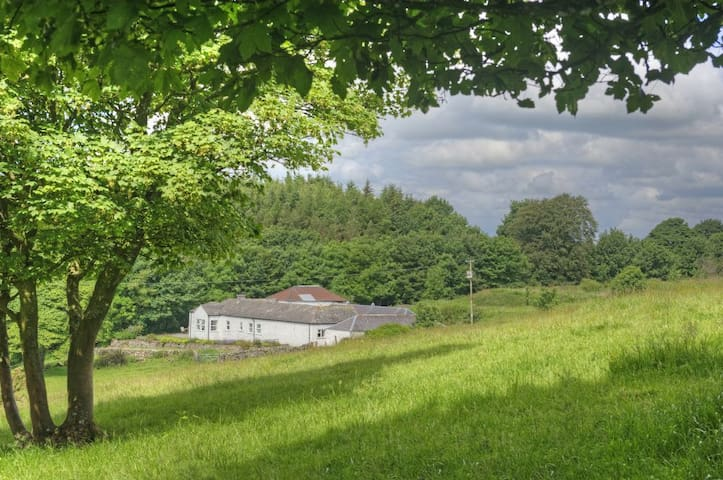Peace & privacy on a beautiful coastal estate in SW Scotland nr Kirkcudbright