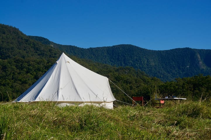 Wild Camping Pinnacle Eco Retreat