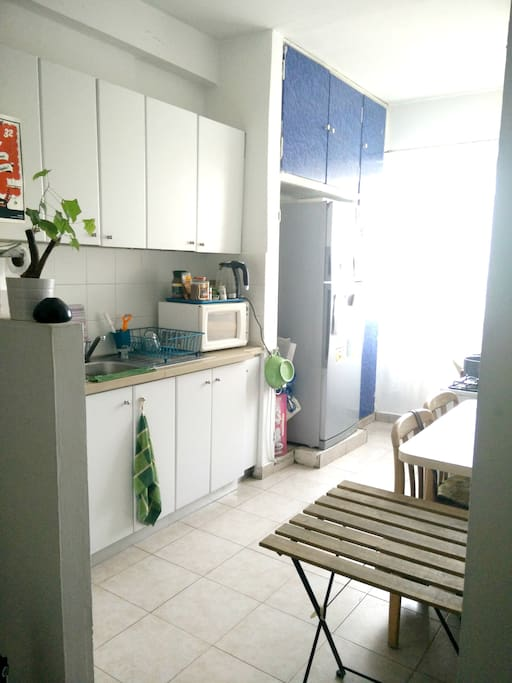 Large comfortable kitchen