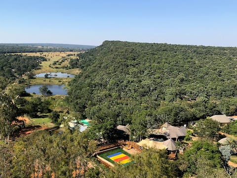 Waterberg Game Park - Two Bedroom Apartment with Patio