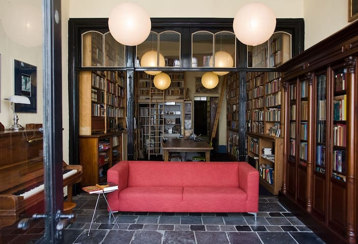 Library&Living room