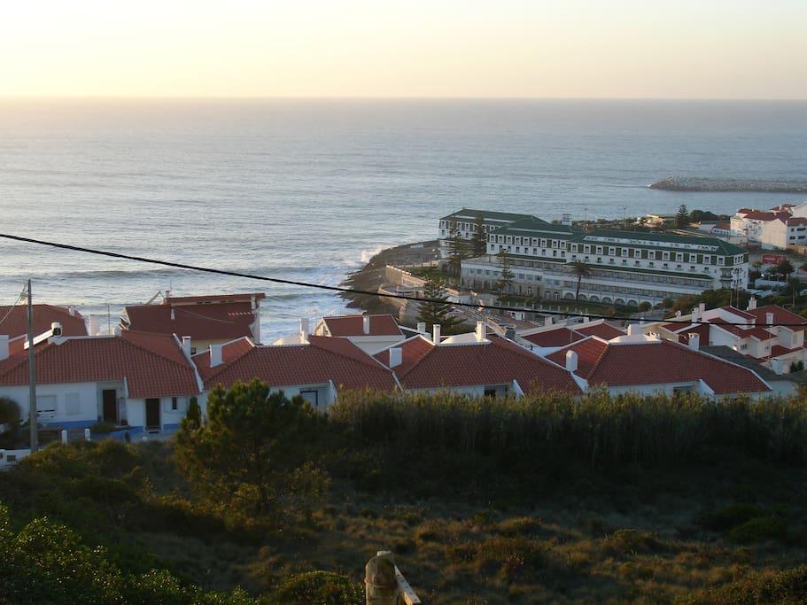 Vista de mar da varanda da sala