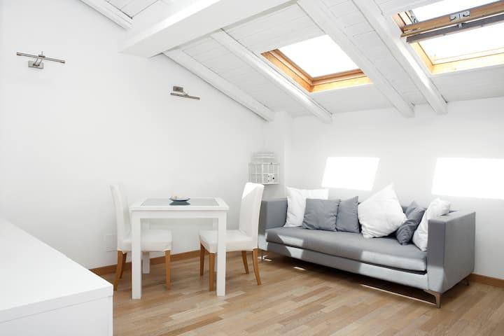 confortevole loft posizione ottima