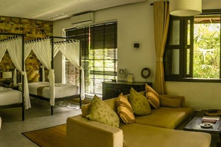 Deluxe Twin Villa Samanea Beach Resort & Spa