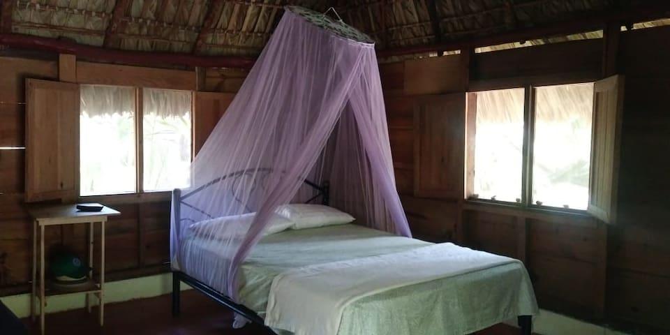 Una cabaña privada