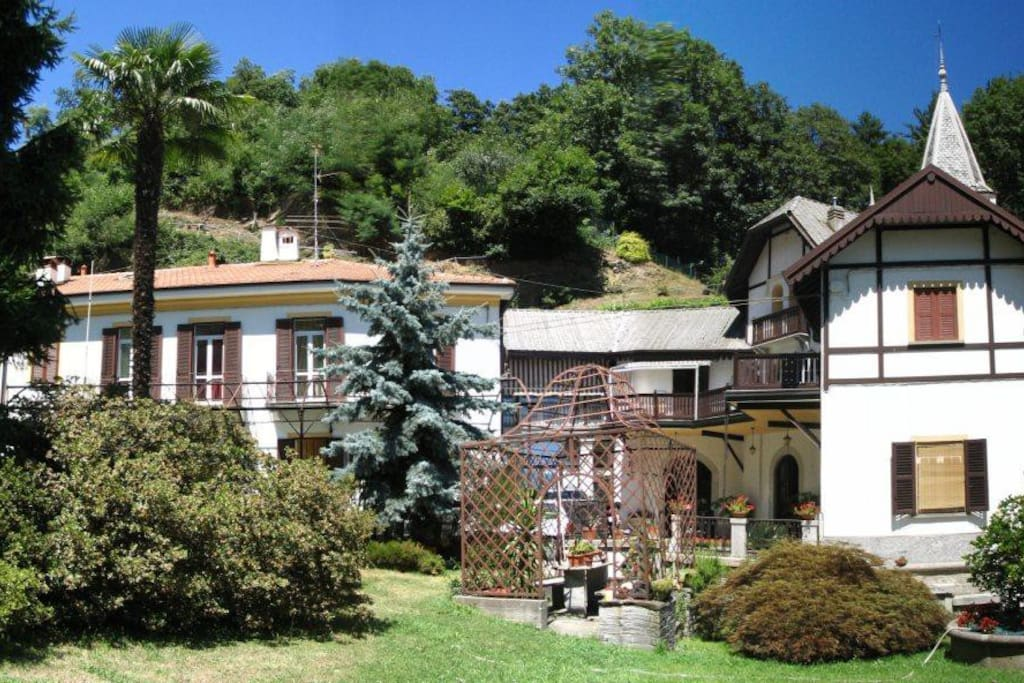 Villa ombrosa sulle colline del lago maggiore - Ristrutturo casa ...