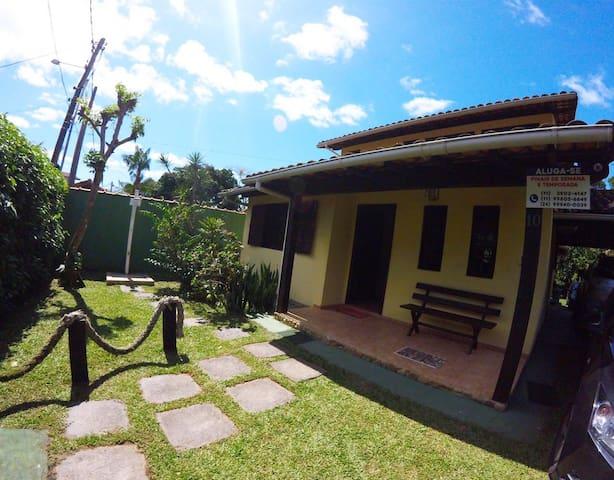Paraty Trindade Casa de 03 quartos