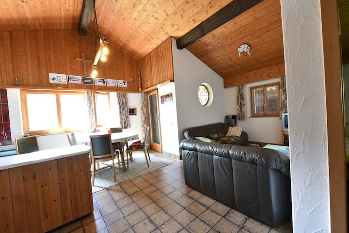 Apartment in Breil/Brigels with Terrace,Garden Furniture,BBQ