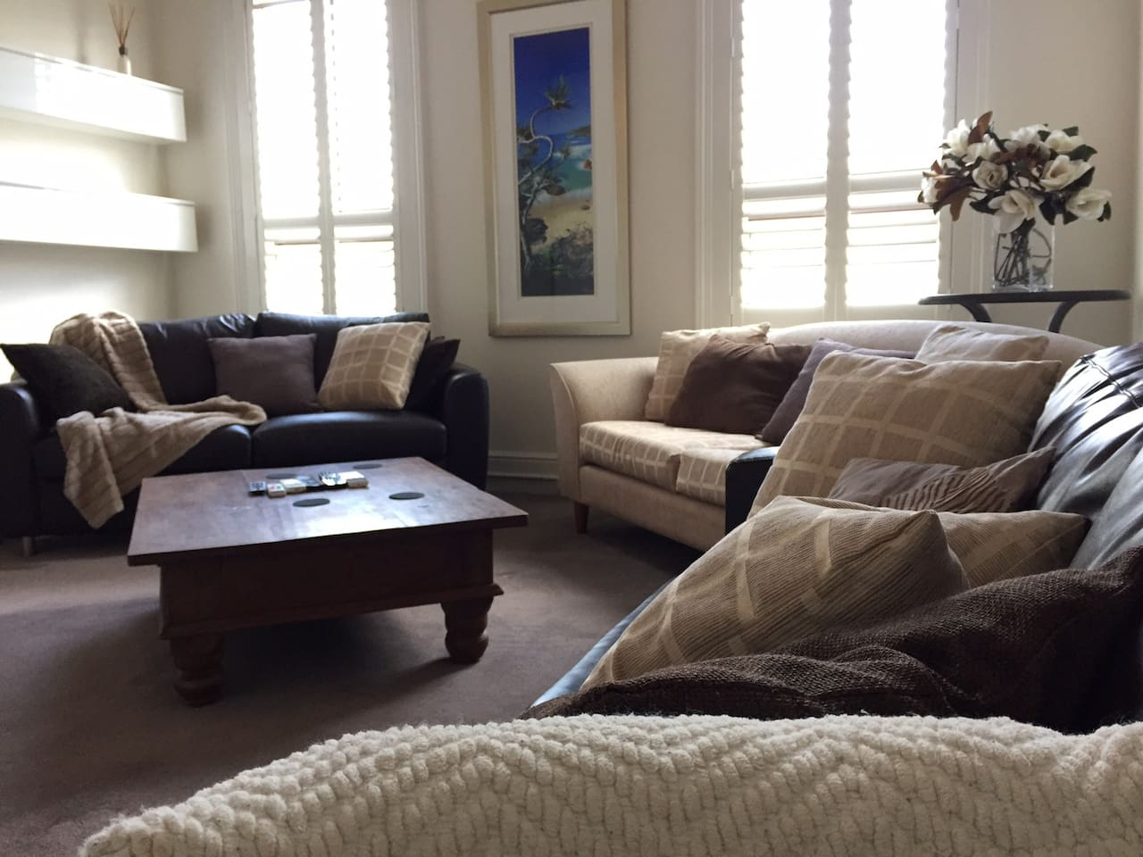 Large Lounge room - Enough room for whole family