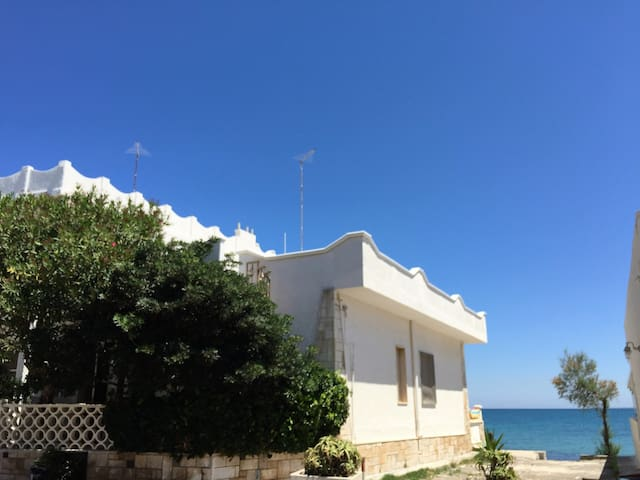 House on the sea in Salento