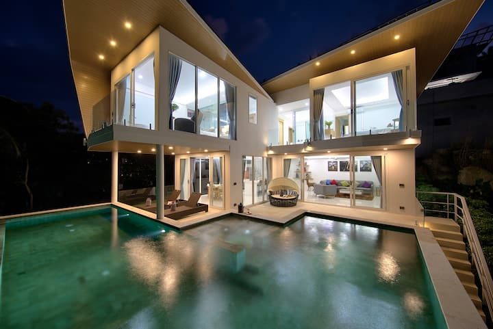 Villa Starry - 3 Bedrooms Sea Views & Private Pool
