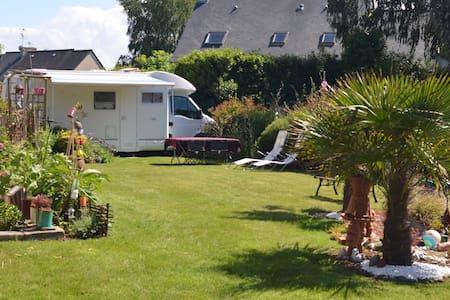 Camping car à St Lunaire (Dinard) - Saint-Lunaire