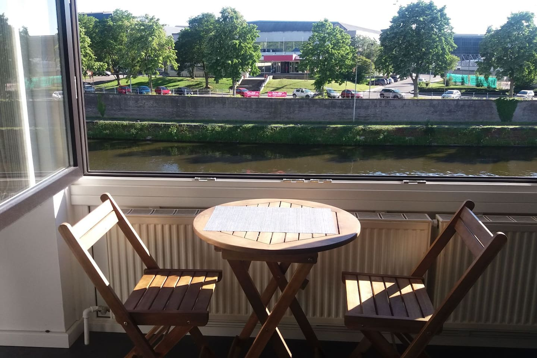 En bord de Sambre .Namur la belle.