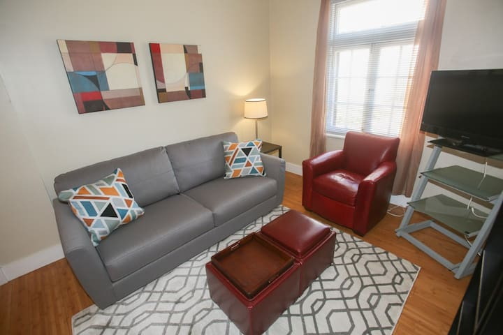 Modern Condo on Delmar Loop; Central to Everything