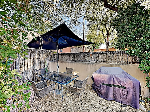 Fire up the gas grill in the backyard and have a cookout.