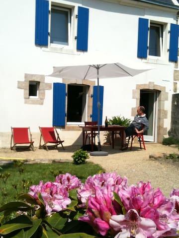 maison de charme, au calme,vue mer - Plouhinec
