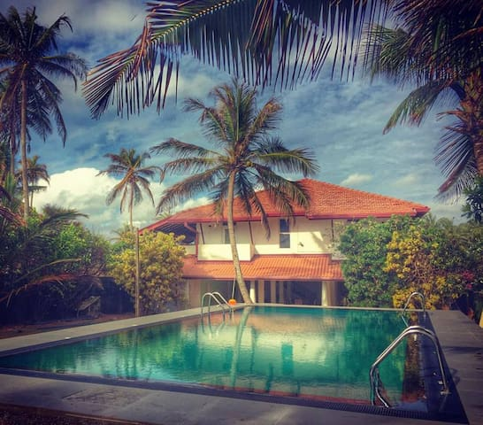 Ziegler Cottage with Beach View - Negombo - Bed & Breakfast
