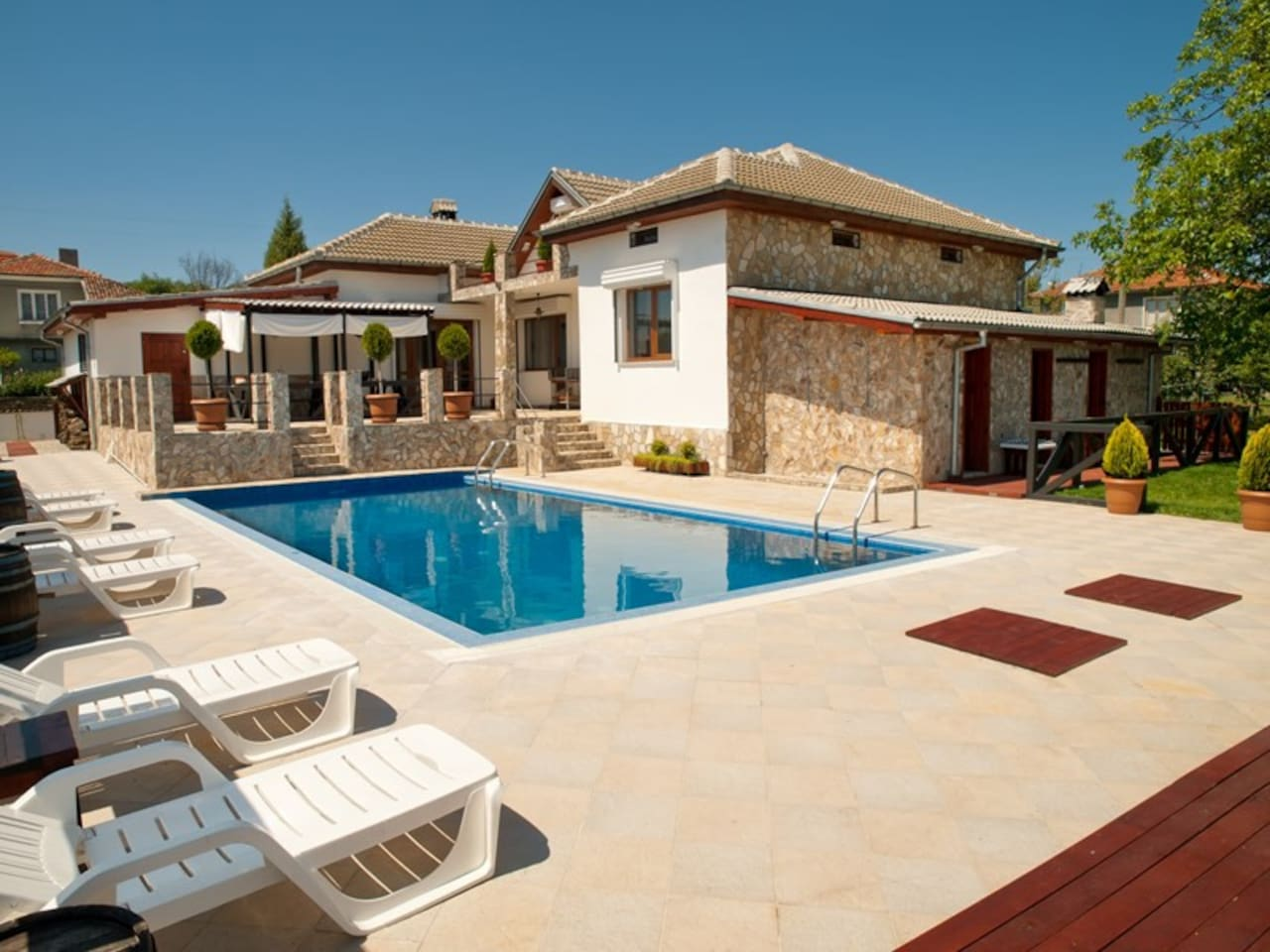 Welcome at your private summer villa!