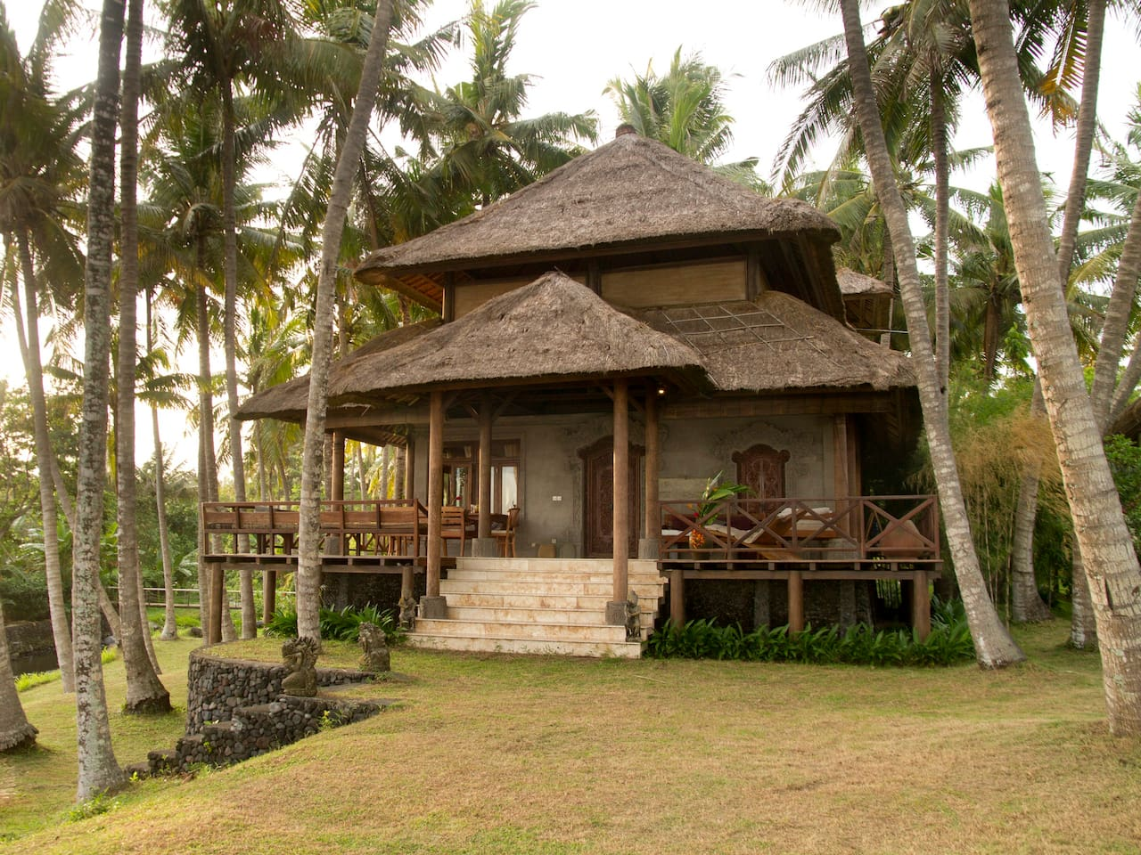 Villa Tuman.... is the original house on the property