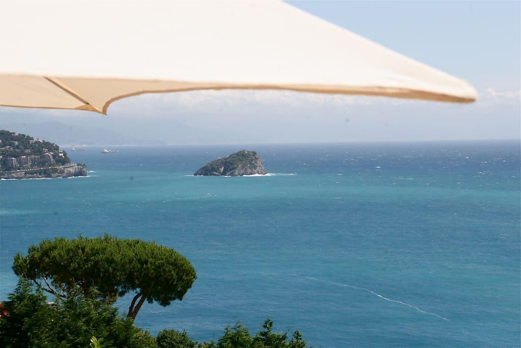 vista mare (isola Bergeggi)