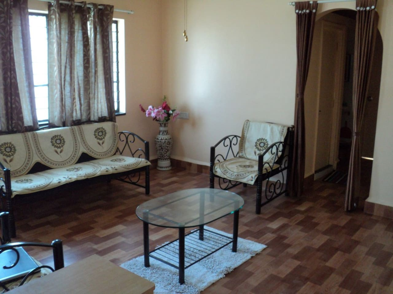 Living room of the apartment