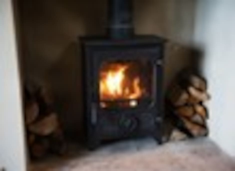 Cosy log burner...