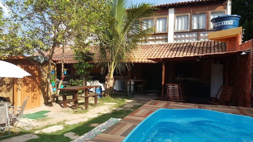 Suite com cama casal 800mts praia .Porto Seguro/BA