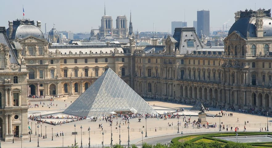 LOUVRE Tuileries JEWEL, SAFE & LUXE! - Paris - Apartamento