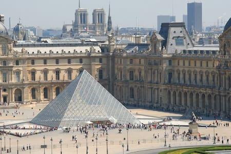 LOUVRE Tuileries JEWEL, SAFE & LUXE! - Paryż