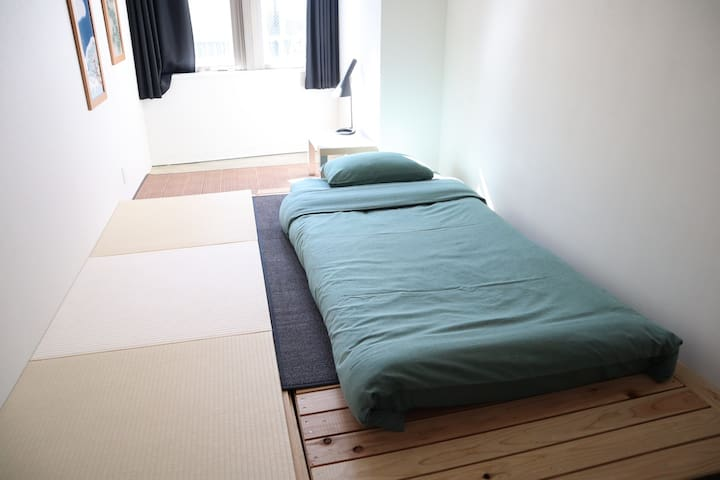 #4 Tatami room/1min from Train St!
