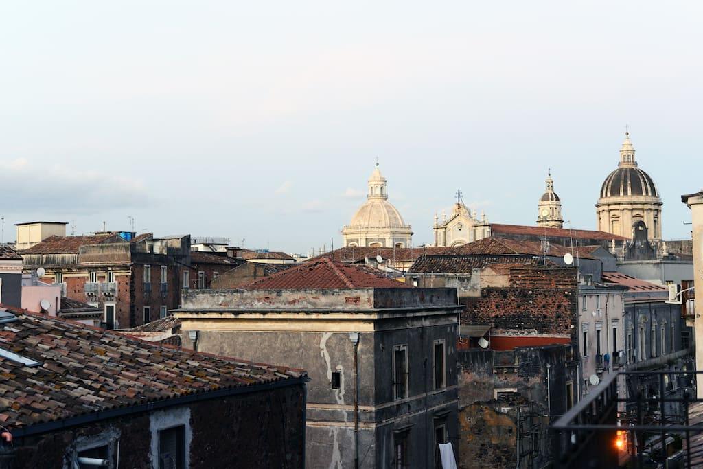 Panorama da uno dei balconi