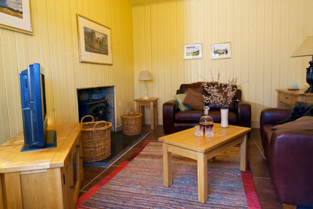 Allt na Criche sitting room