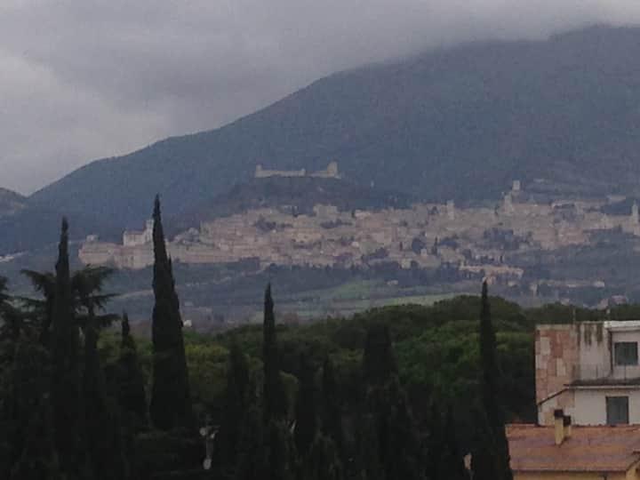 Vista Panoramica di Assisi