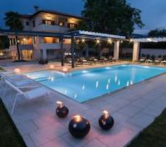 Luxury villa with a swimming pool