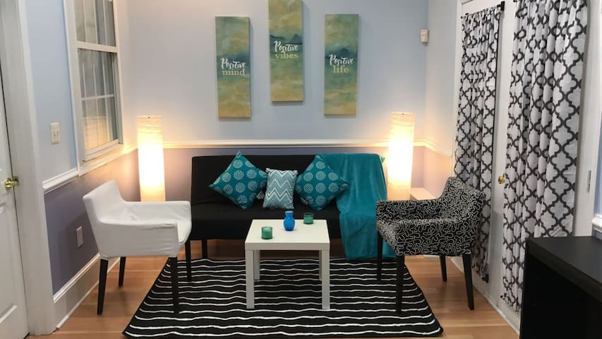Bright and clean apartment in DC area