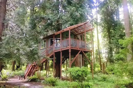 Tree House ~ Whidbey Island, WA  - Δεντρόσπιτο