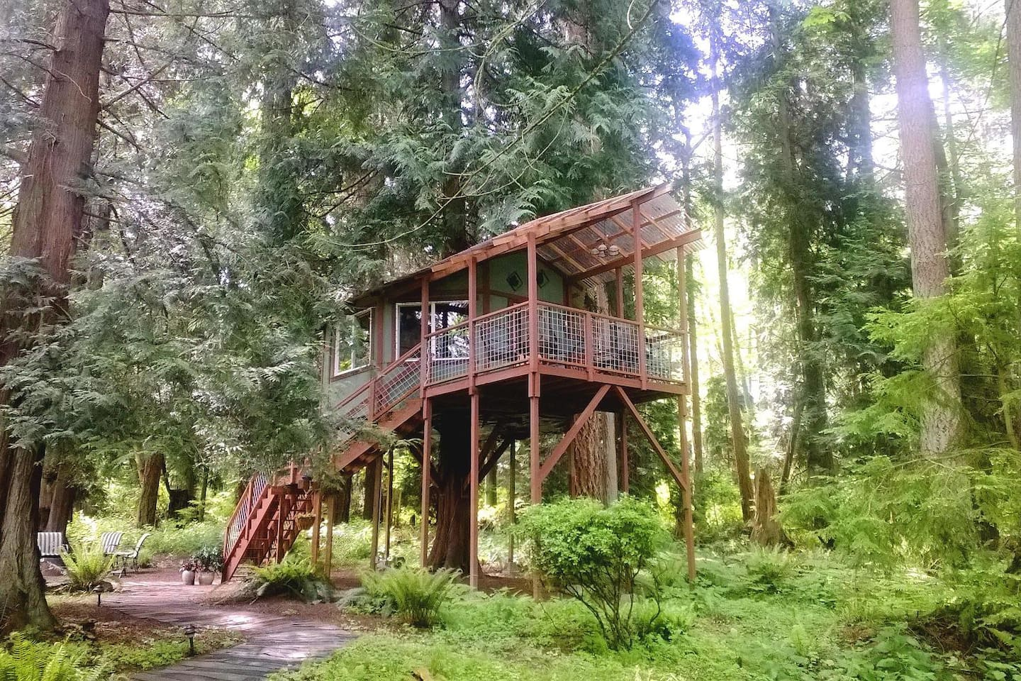 tree house whidbey island wa treehouses for rent in freeland