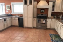 Large,  spacious and fully equipped kitchen