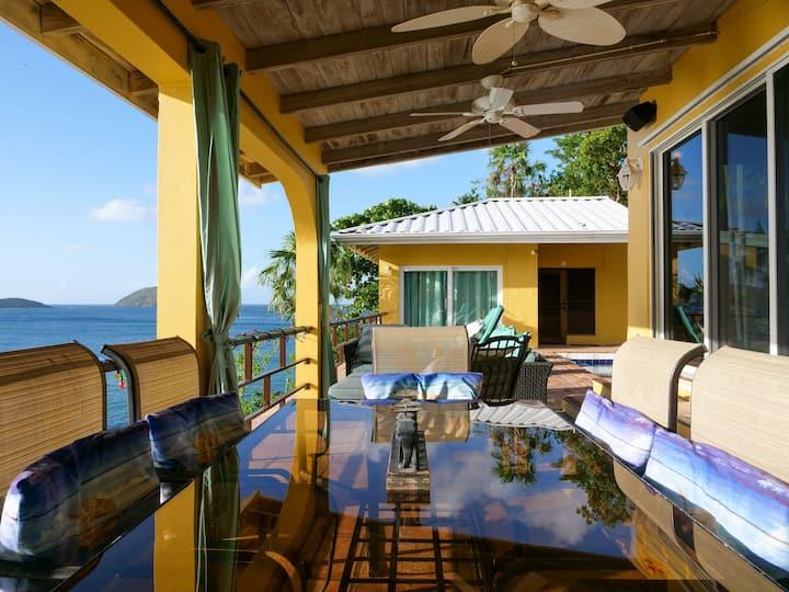 Waterfront Luxury Villa on Hull Bay