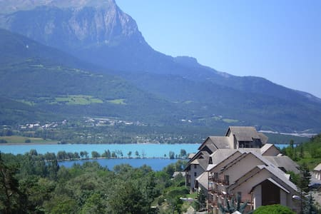 vue sur le lac et les montagnes - 昂布蘭(Embrun) - 公寓