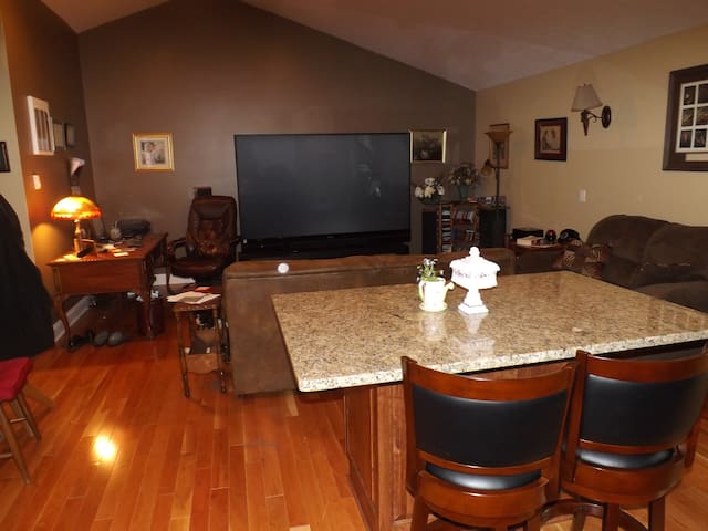"Beautiful 2BD/2BA apartme with garage and 92"" HDTV - Wadsworth - Apartmen"