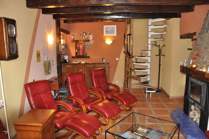 LOGITE TOURISTIQUE  LES  3  LOUPS - Châtenois