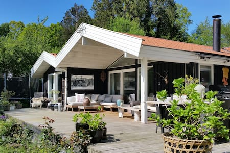 Idyllic house on beautiful lake - Ålsgårde - Villa