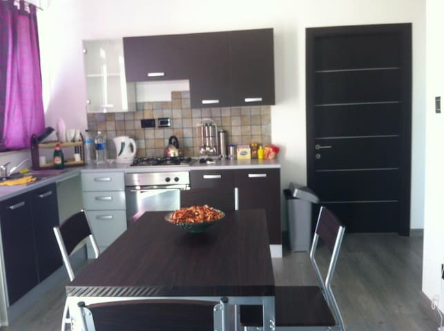 Shared, equipped, self catering Kitchen