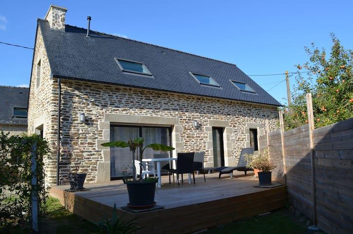 Maison en pierre avec Terrasse - Clohars-Carnoët - Hus