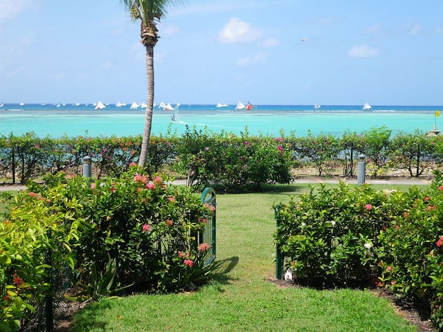 French carribean waterfront flat - Saint-Francois - อพาร์ทเมนท์
