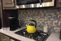 Krueg coffee pods and tea pot