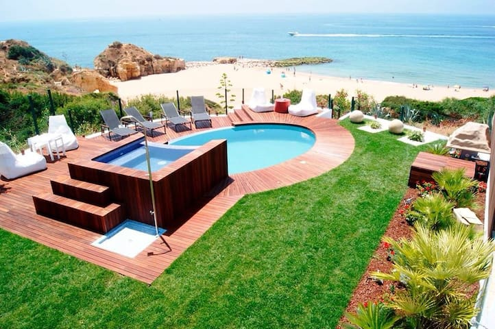 villa on the beach in ALBUFEIRA